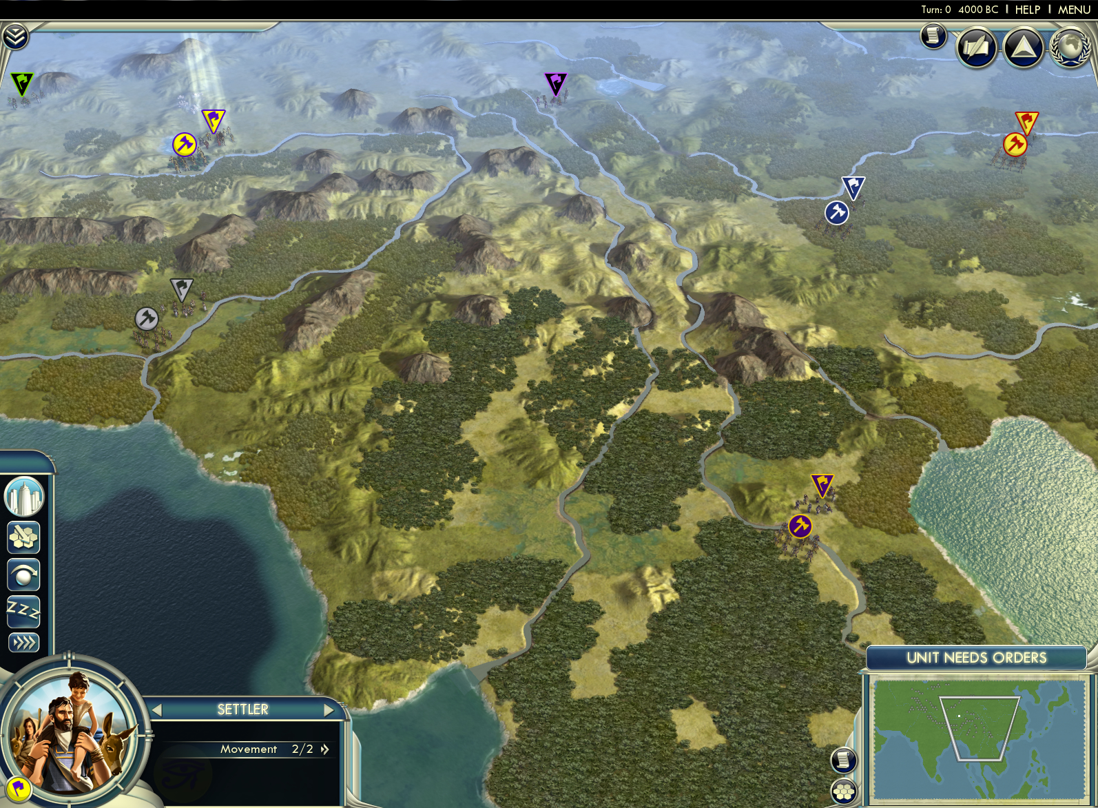 Civilization V - Cradle of Civilization Map Pack: Asia screenshot