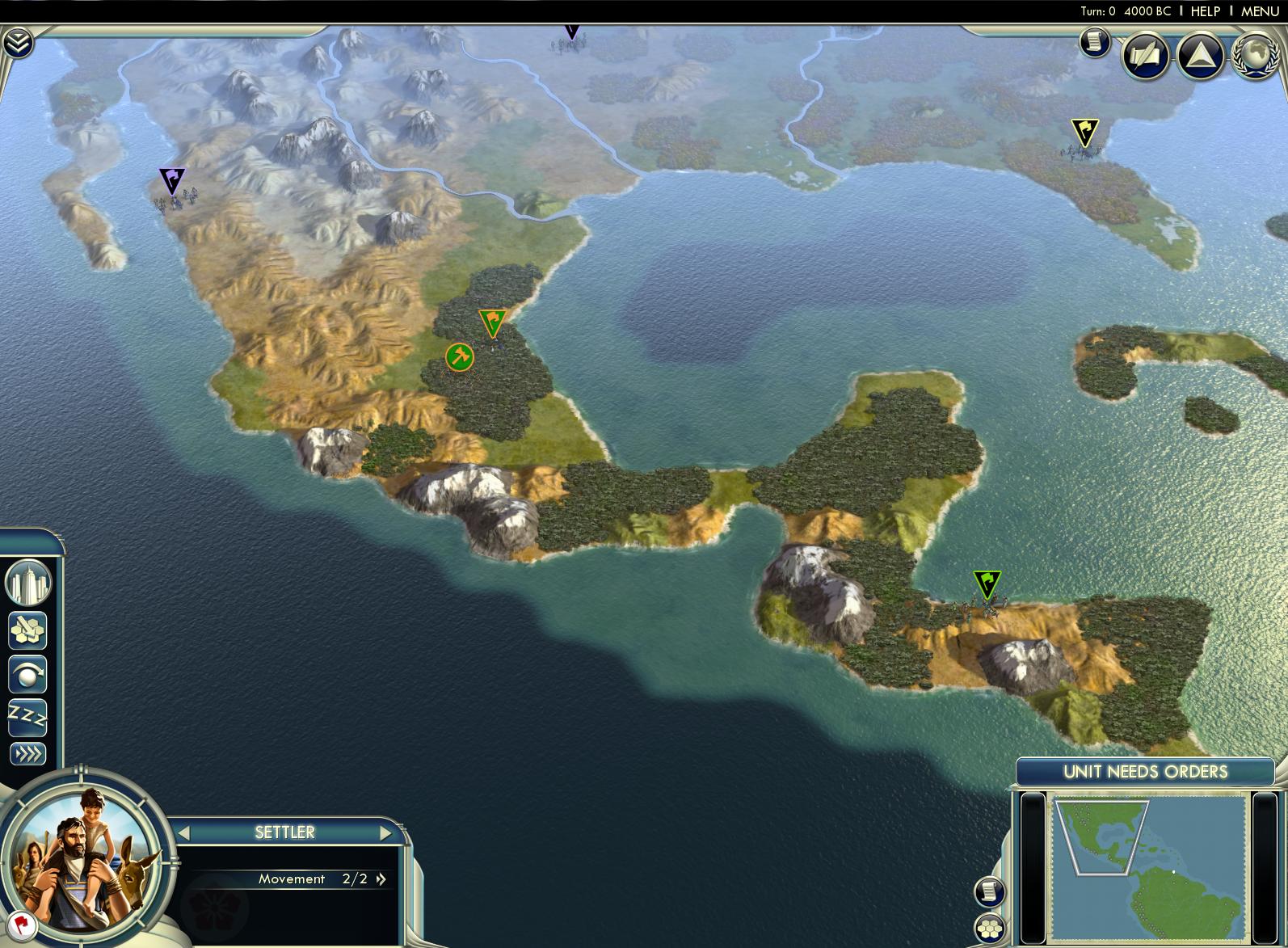 Civilization V - Cradle of Civilization Map Pack: Americas screenshot