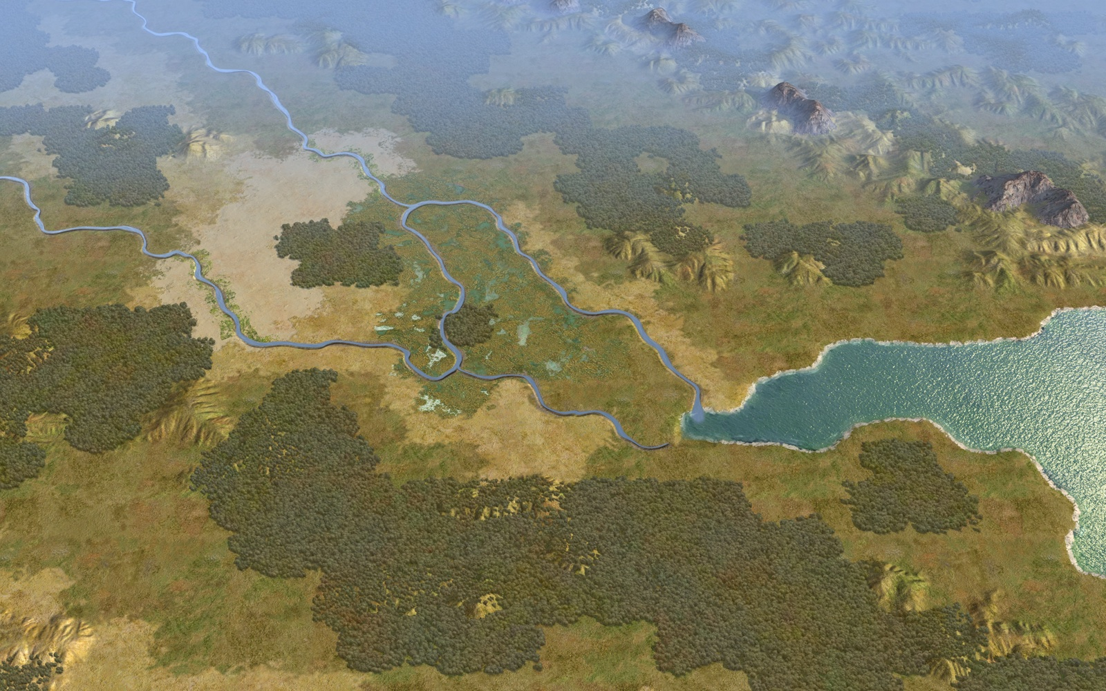 Civilization V - Cradle of Civilization Map Pack: Mesopotamia screenshot