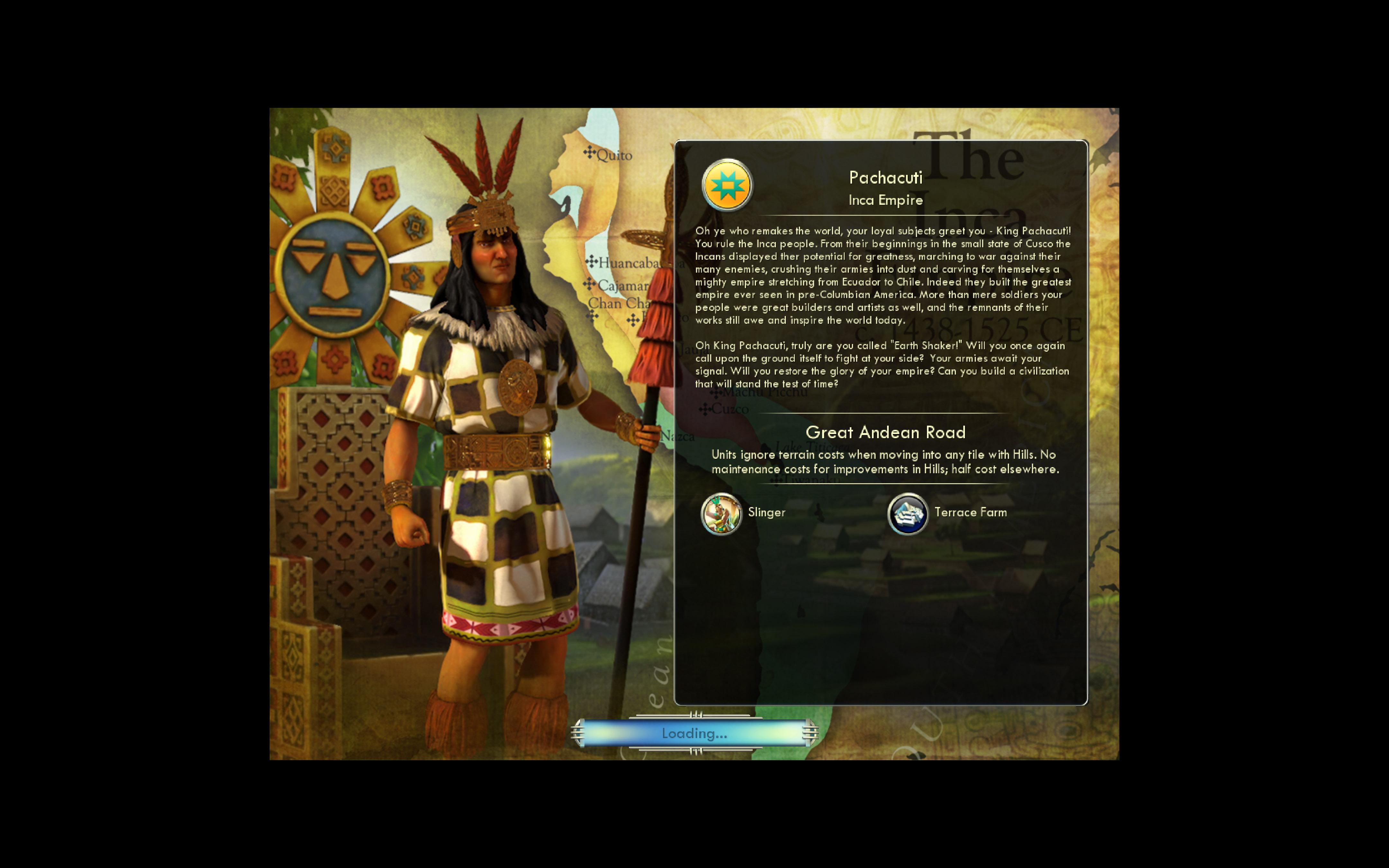 Civilization V - Civ and Scenario Double Pack: Spain and Inca screenshot
