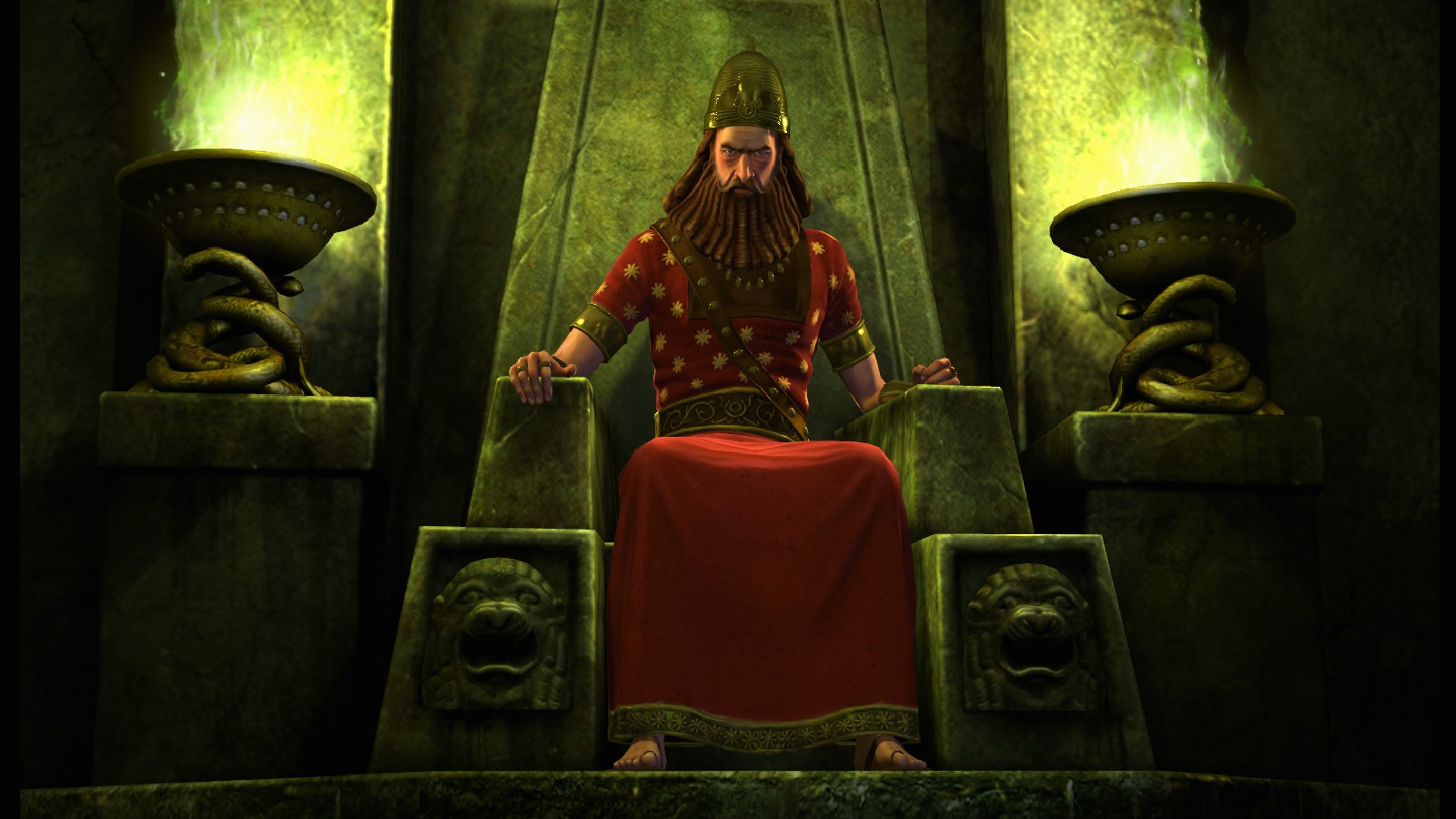 Civilization V - Babylon (Nebuchadnezzar II) screenshot