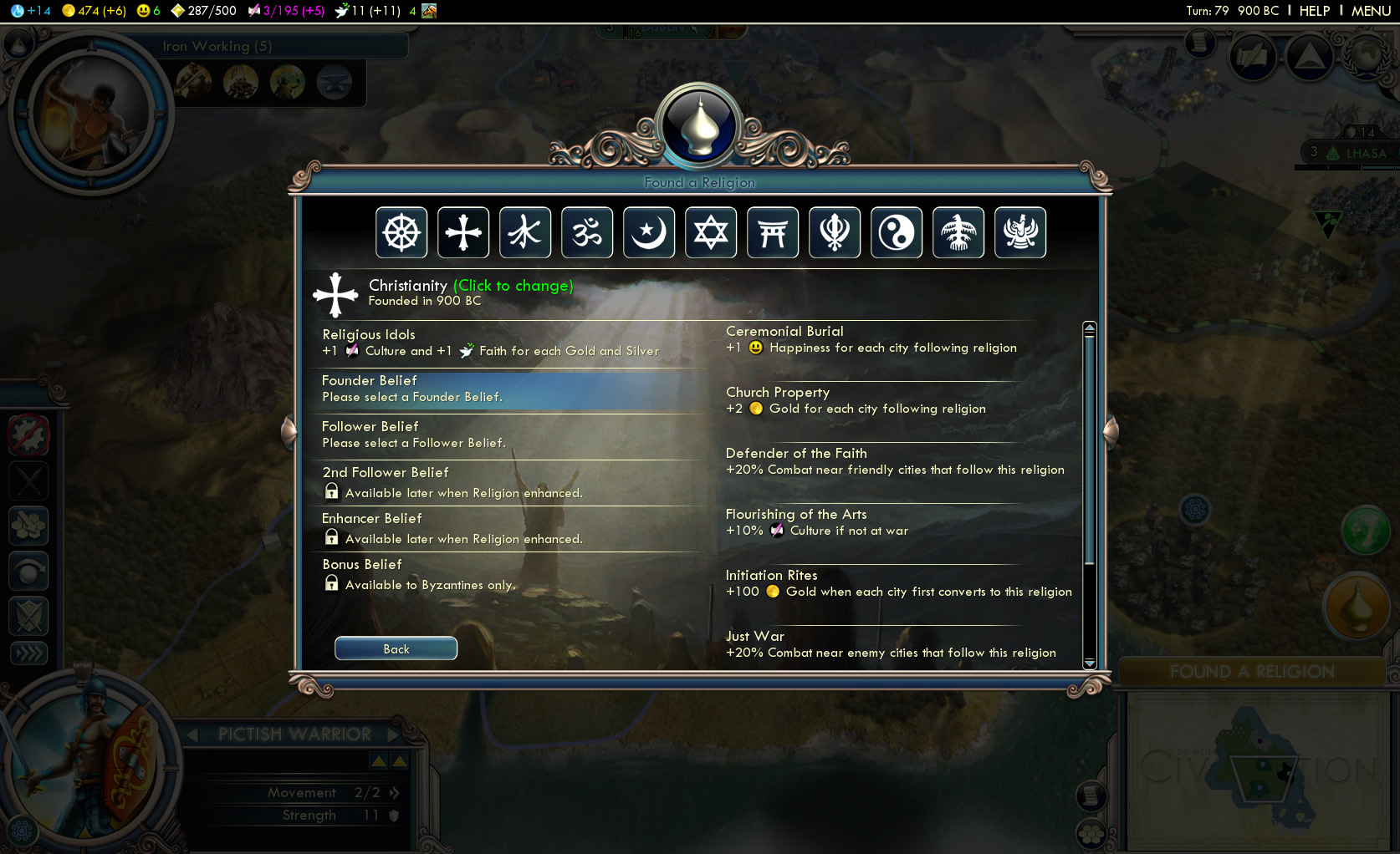 Sid Meier's Civilization V: Gods and Kings screenshot
