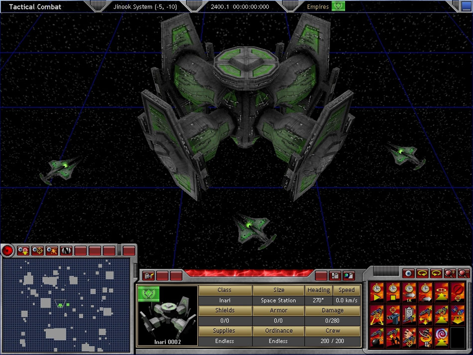 Space Empires V screenshot