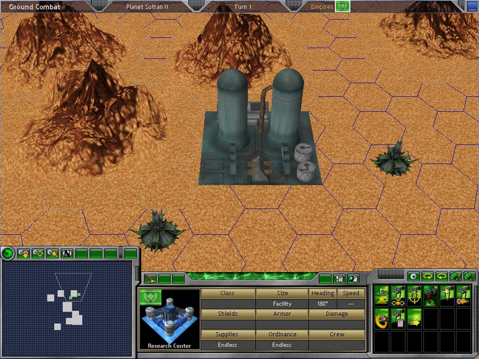 Space Empires V screenshot