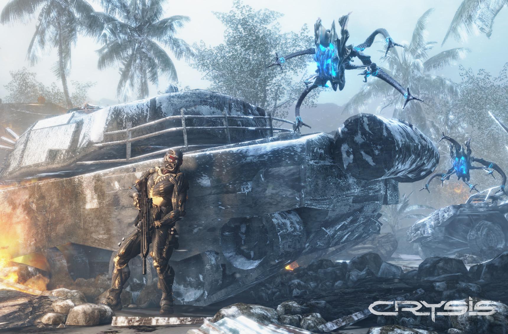 Crysis screenshot