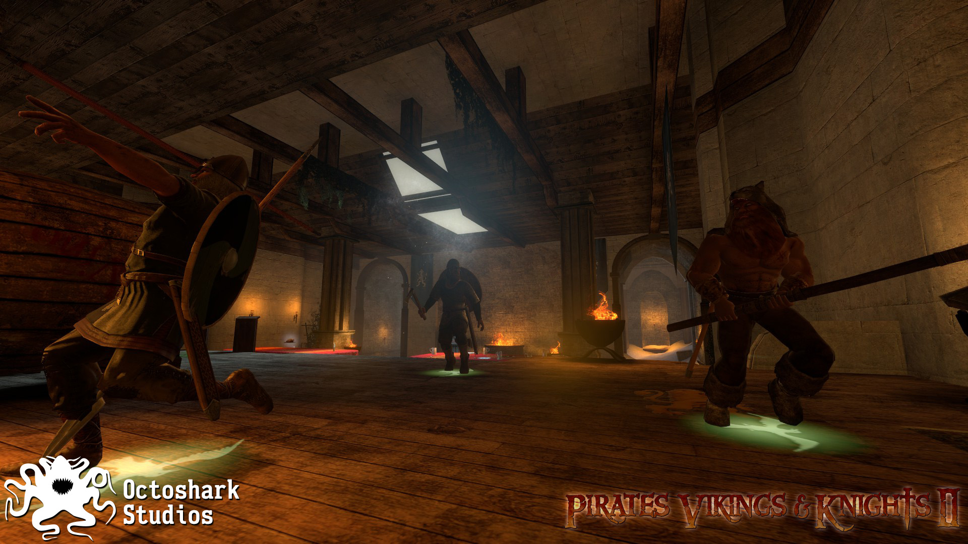 Pirates, Vikings, and Knights II screenshot