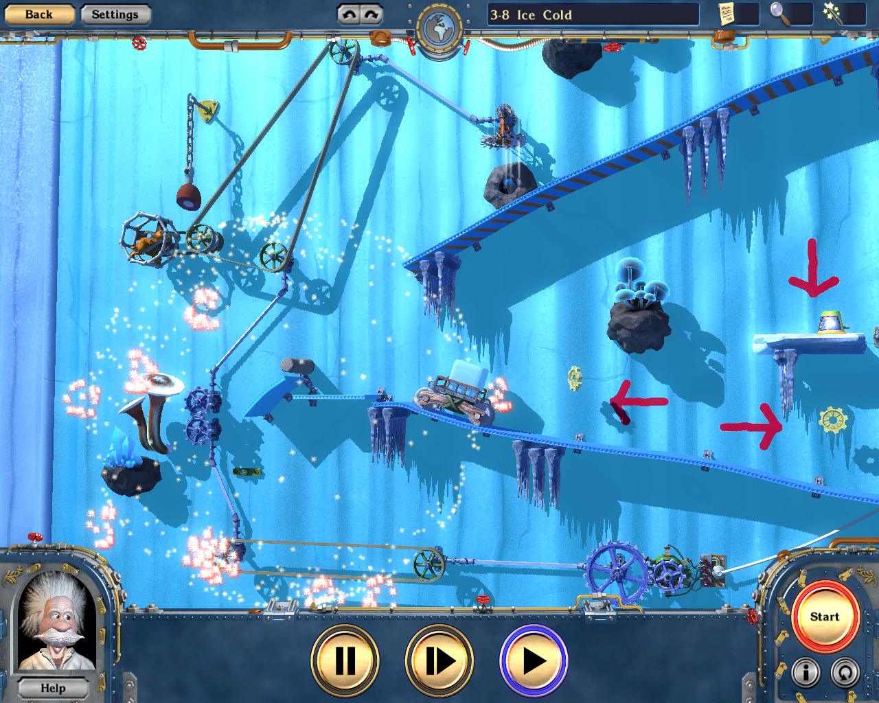 Crazy Machines 2: Time Travel Add-On screenshot