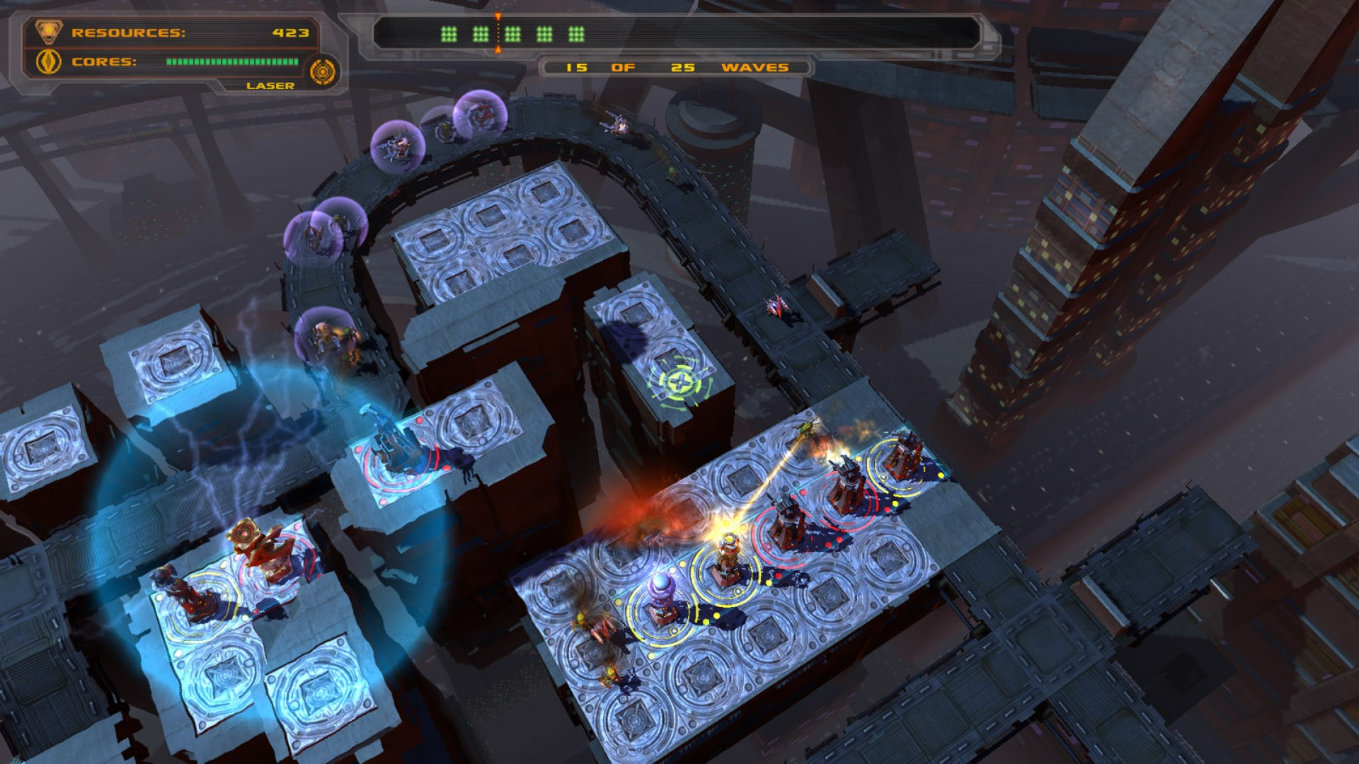 Defense Grid: Containment DLC screenshot