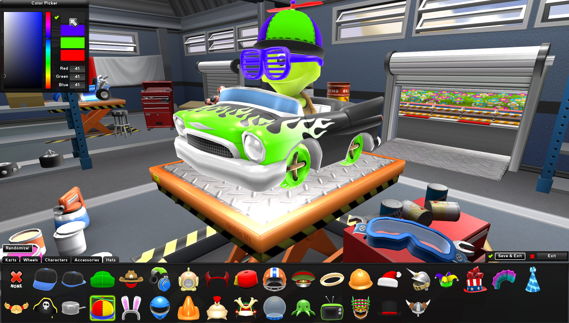 Zero Gear screenshot