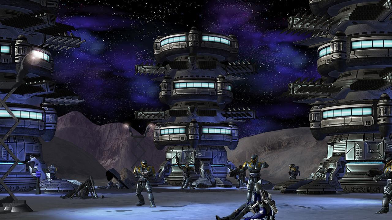 Earth 2160 screenshot