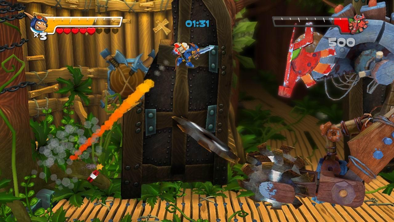 Rocket Knight screenshot