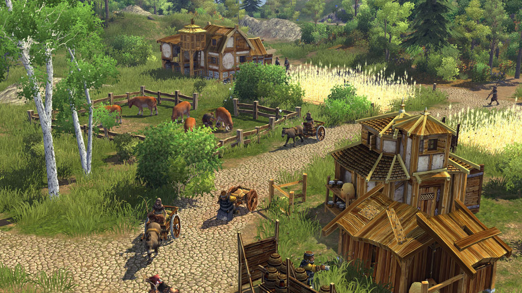 The Settlers: Rise Of An Empire Gold Edition screenshot 1