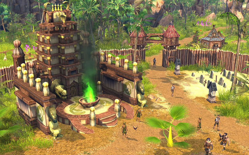 The Settlers: Rise Of An Empire Gold Edition screenshot 2