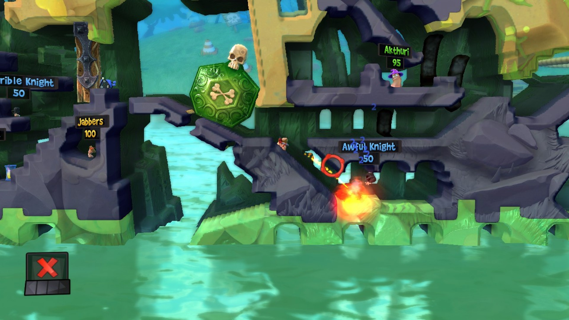 Worms Revolution: Medieval Tales DLC screenshot
