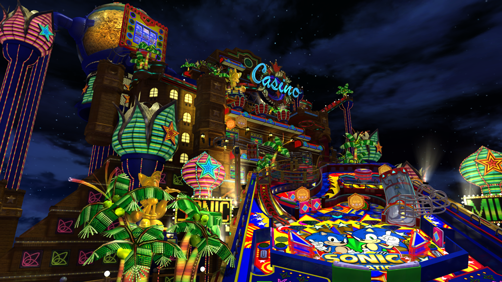 Sonic Generations - Casino Night DLC screenshot