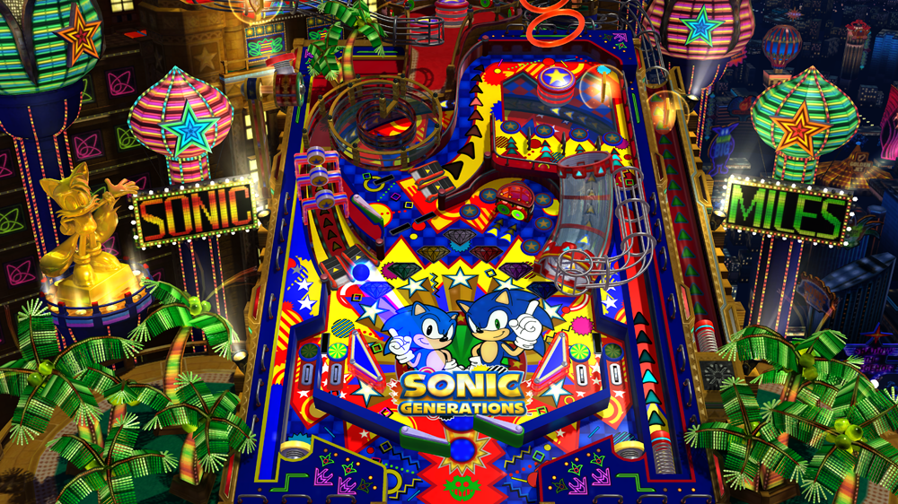Sonic Generations - Casino Nights DLC screenshot