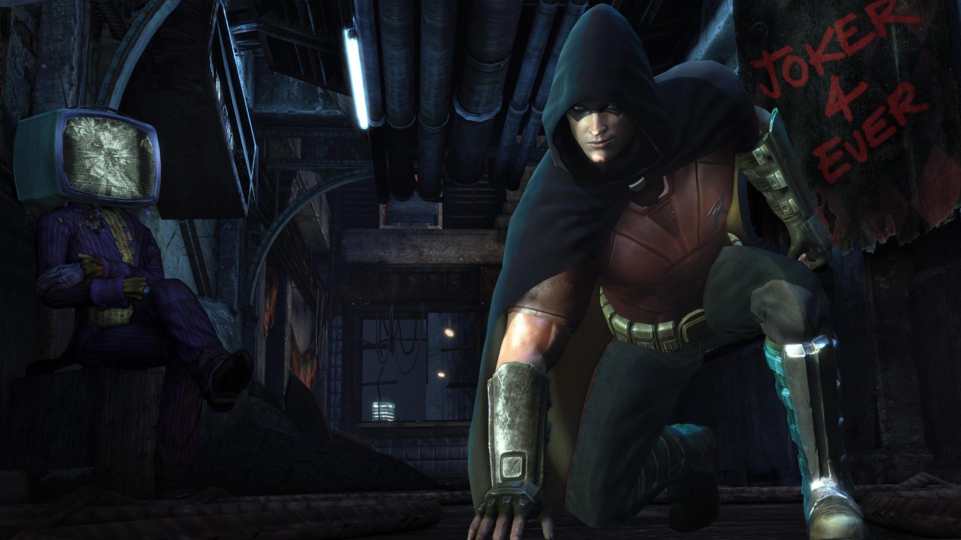Batman Arkham City Harley Revenge скачать