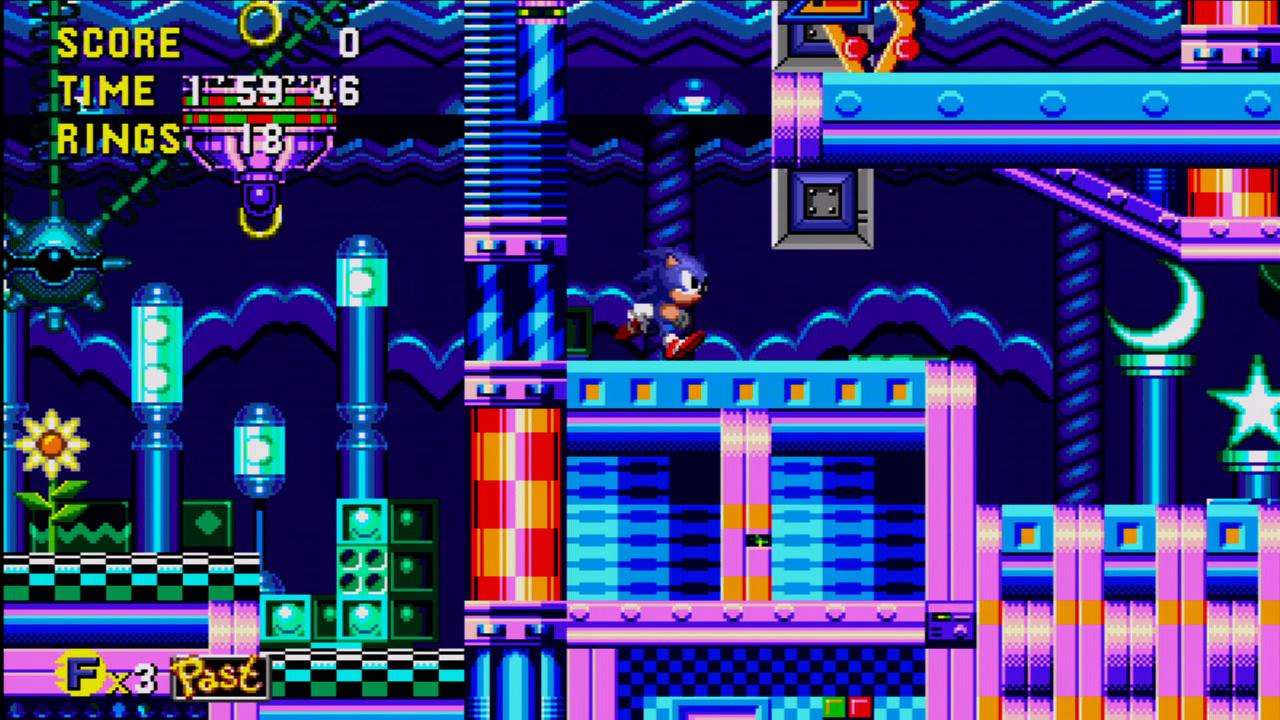 Sonic CD screenshot
