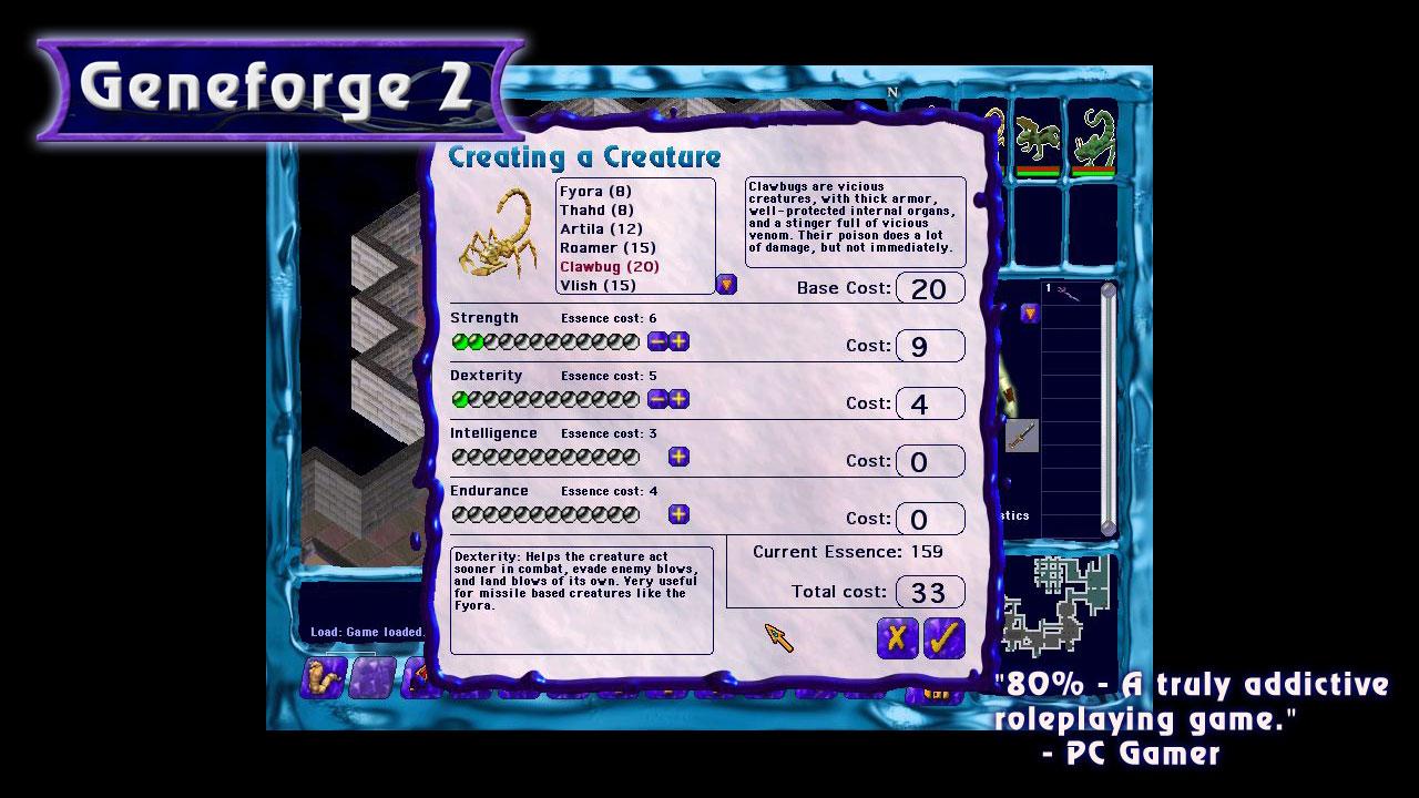 Geneforge 2 screenshot