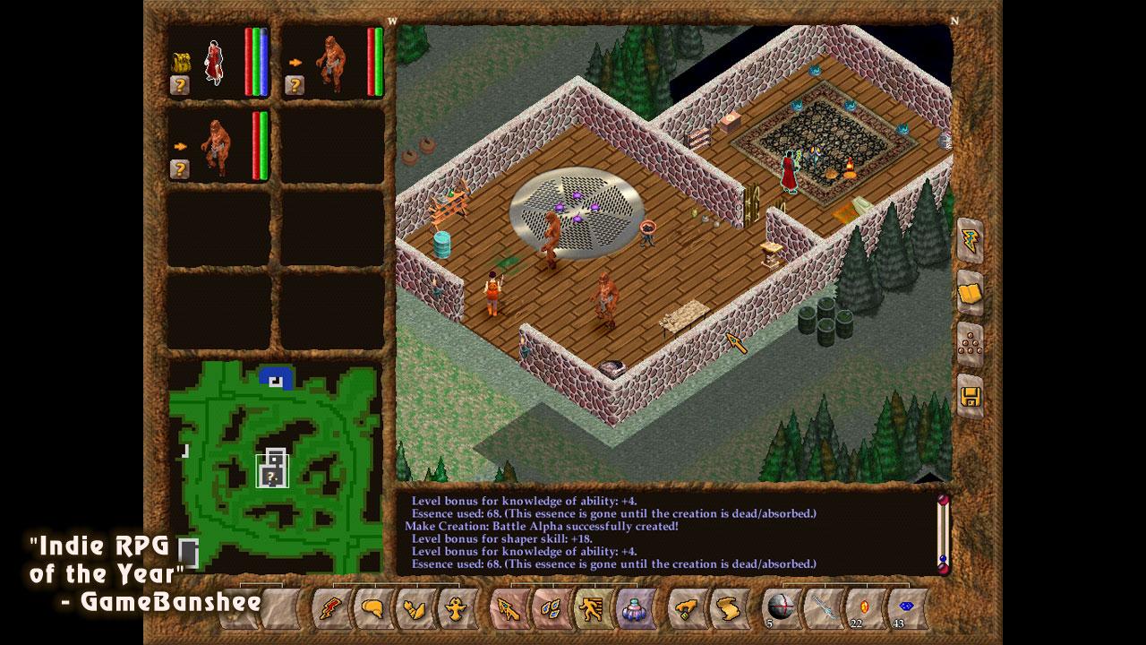 Geneforge 4: Rebellion screenshot