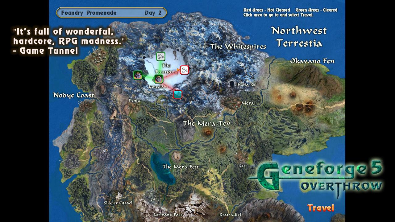Geneforge 5: Overthrow screenshot