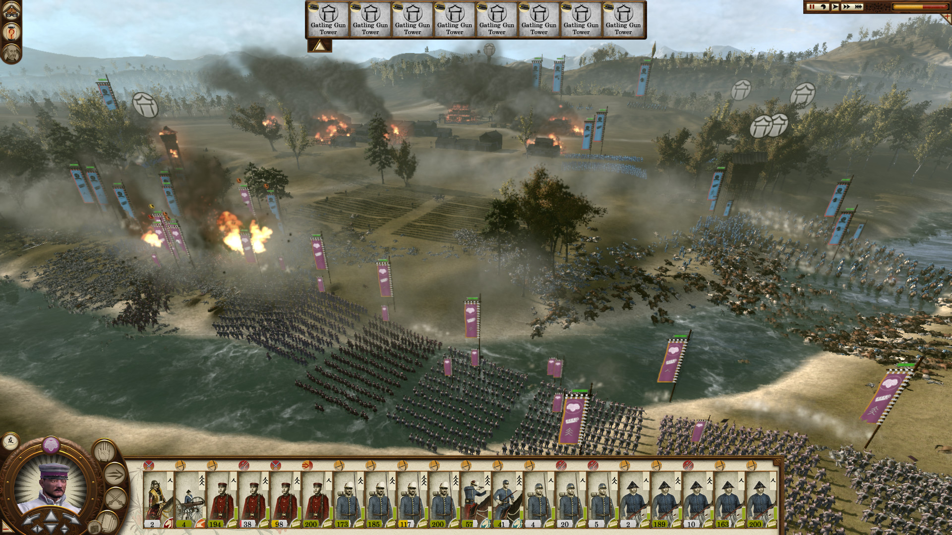 Total War Saga: FALL OF THE SAMURAI screenshot