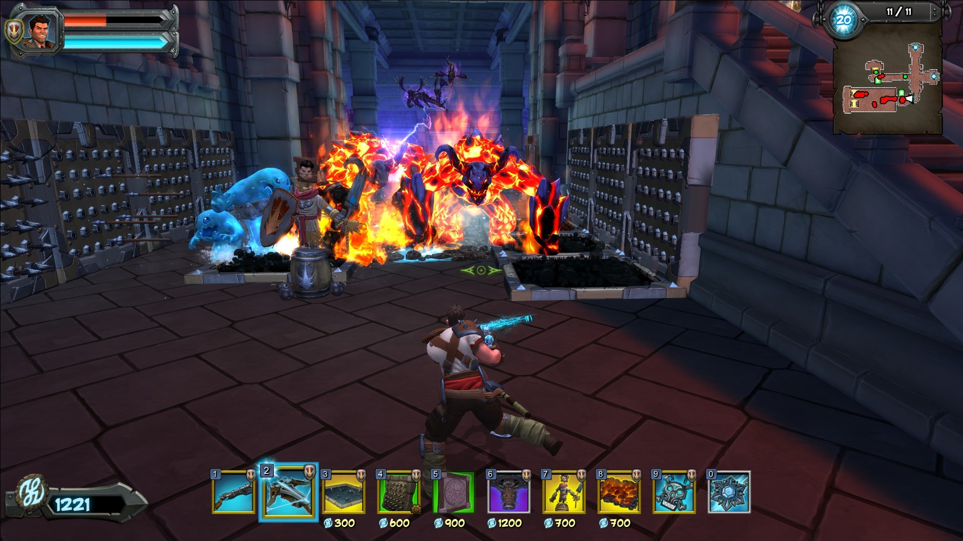 Orcs Must Die! 2 - Fire and Water Booster Pack screenshot