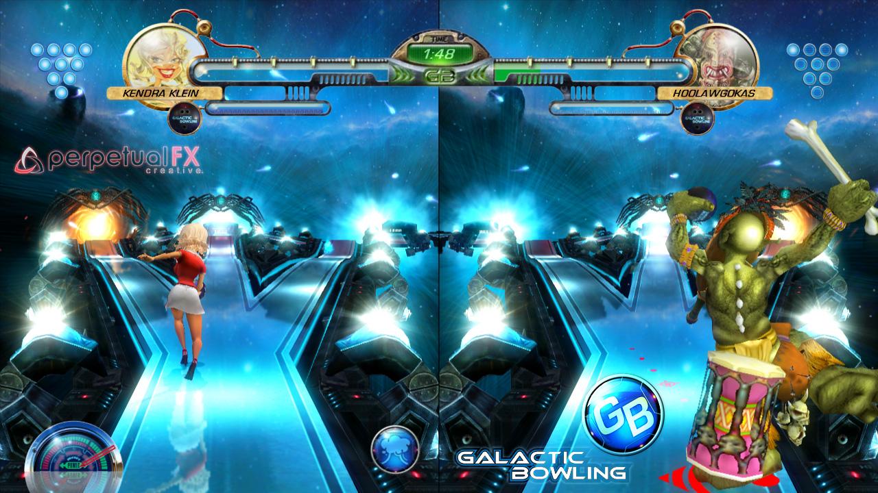 Galactic Bowling screenshot