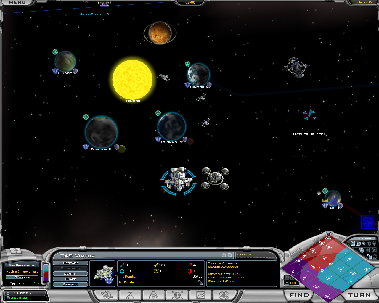 Galactic Civilizations II: Ultimate Edition screenshot