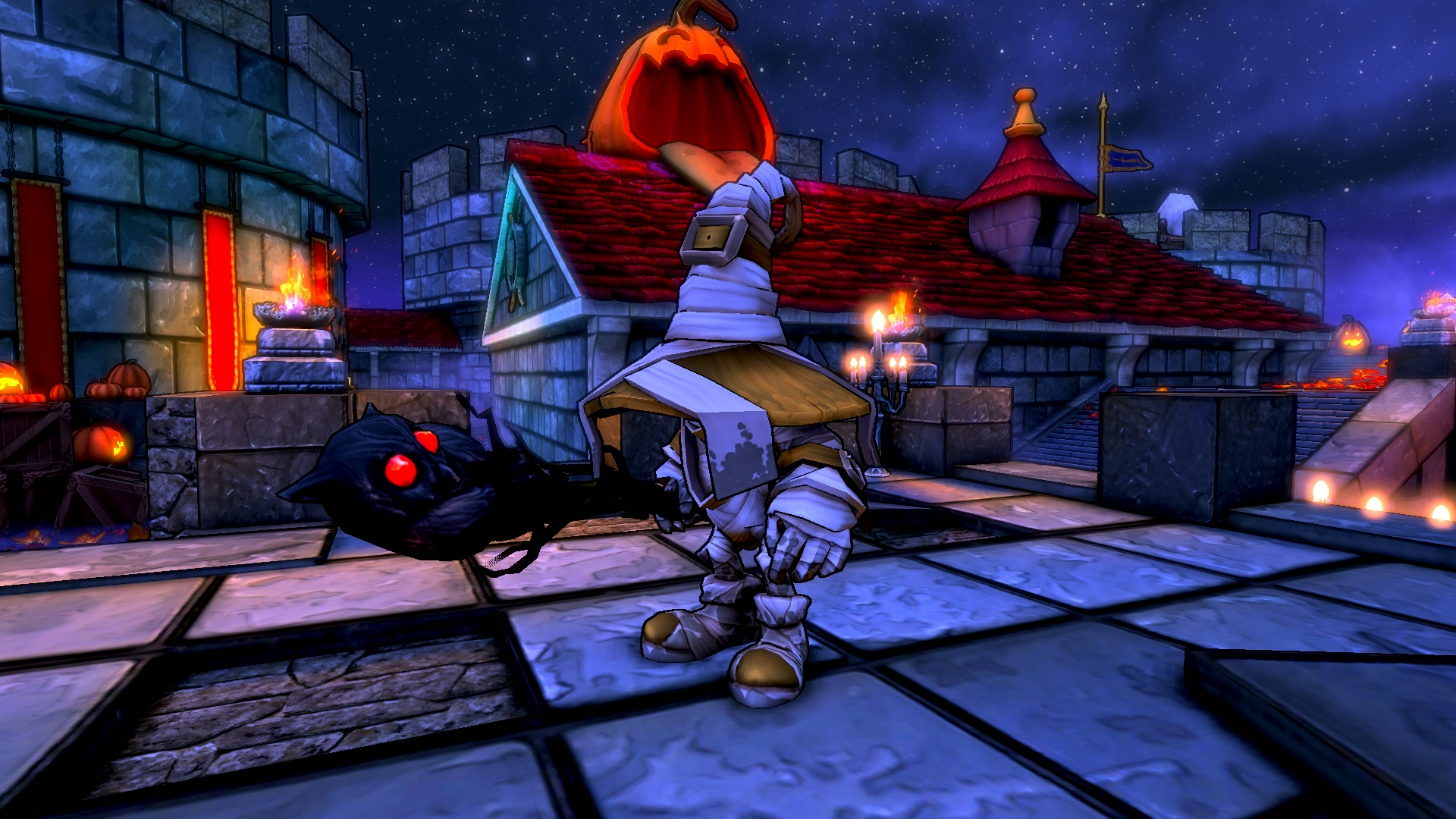 Dungeon Defenders Halloween Costume Pack screenshot