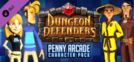 Dungeon Defenders: Penny Arcade Character Pack