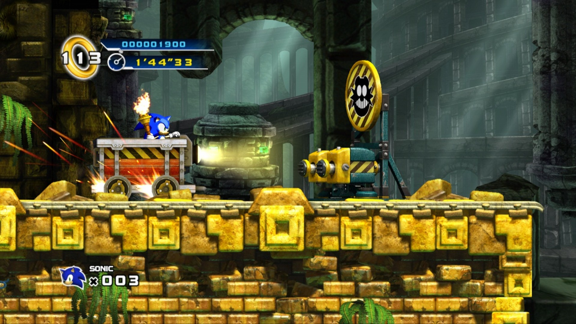 Sonic the Hedgehog 4 - Episode I screenshot
