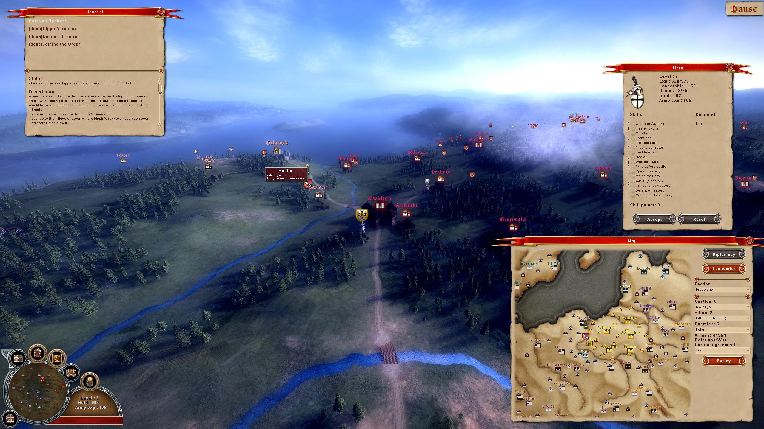 Real Warfare 2: Northern Crusades screenshot