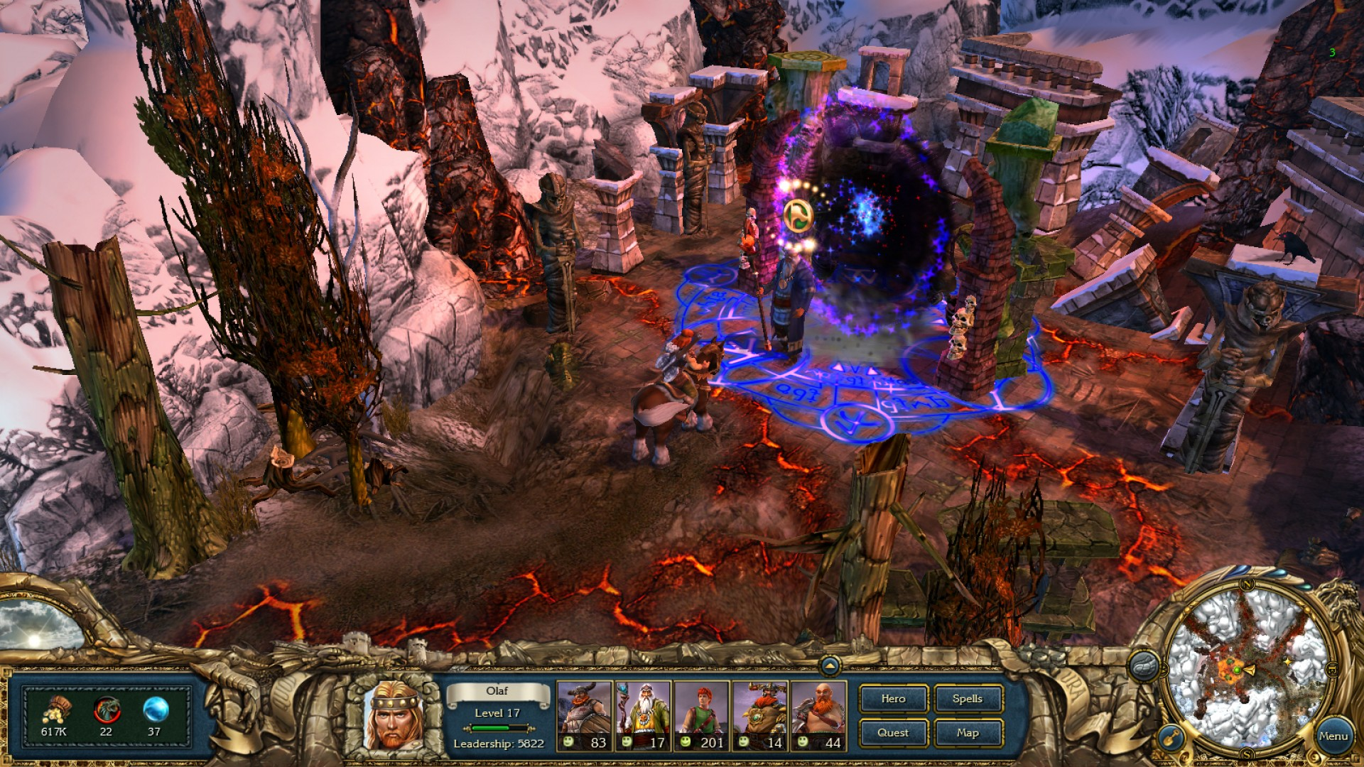 King's Bounty: Warriors of the North screenshot