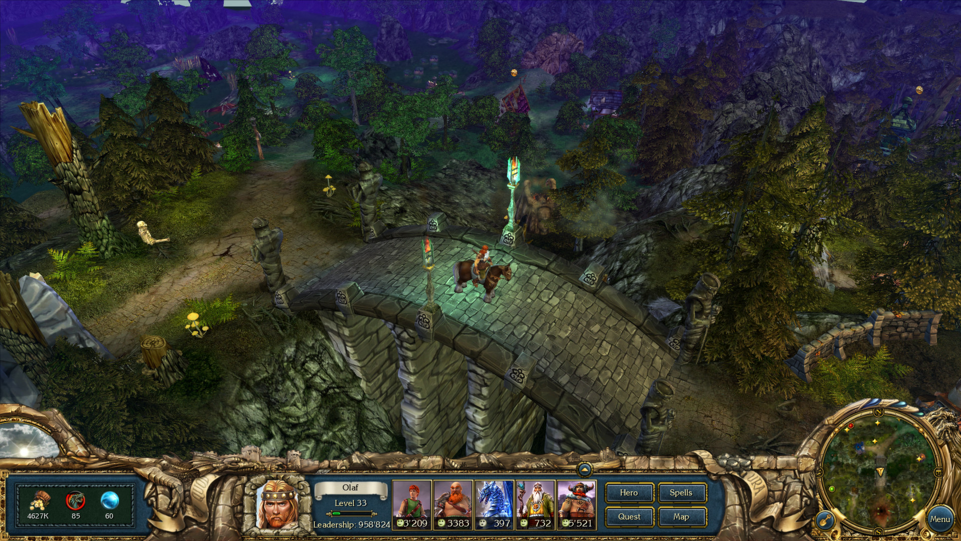 King's Bounty: Warriors of the North - Ice and Fire screenshot