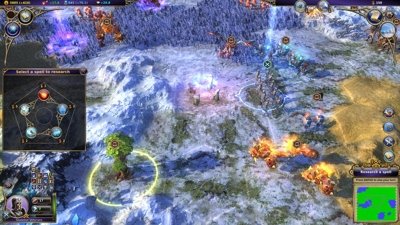 Warlock - Master of the Arcane screenshot