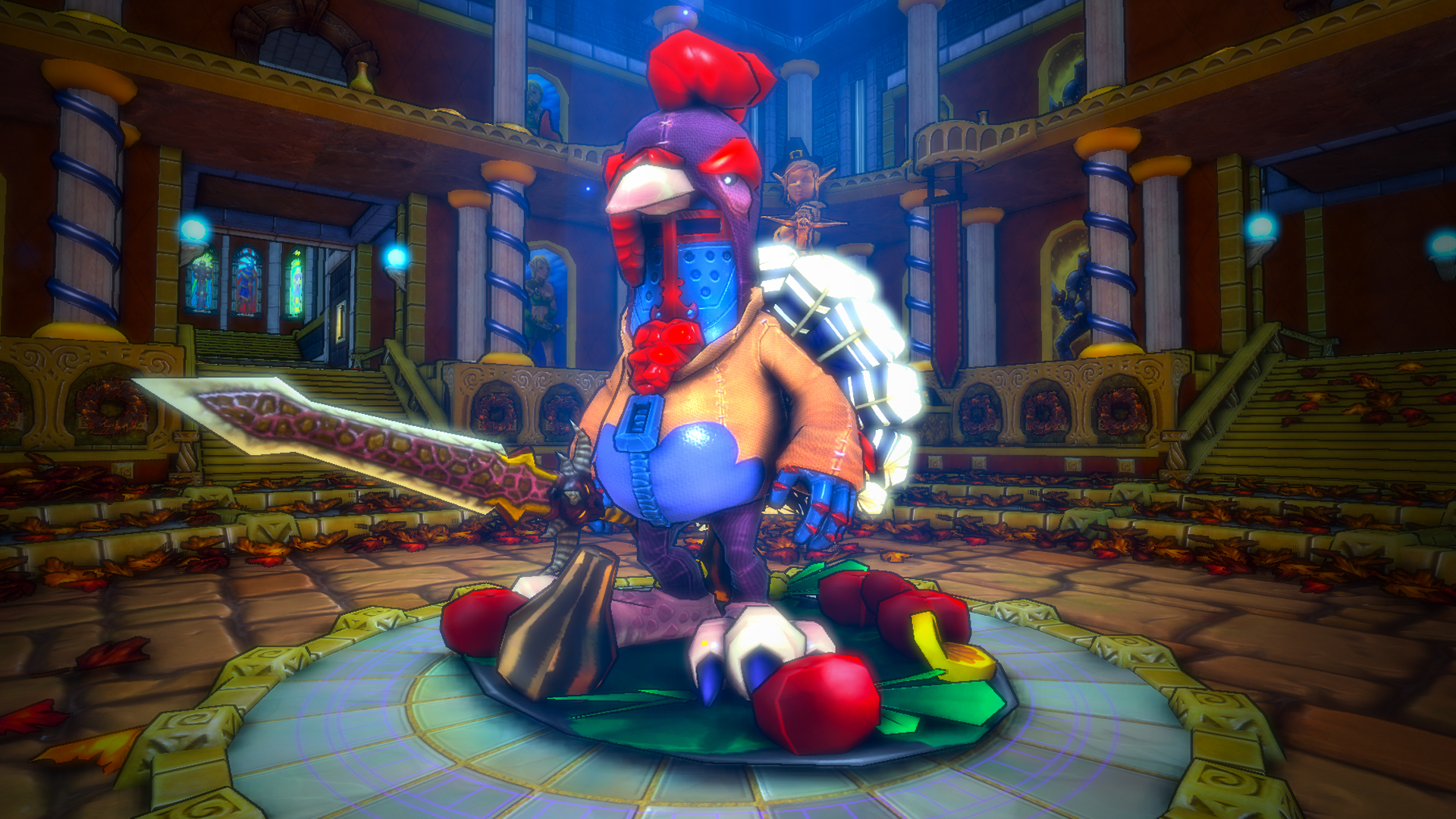 Dungeon Defenders The Great Turkey Hunt! Mission & Costumes screenshot