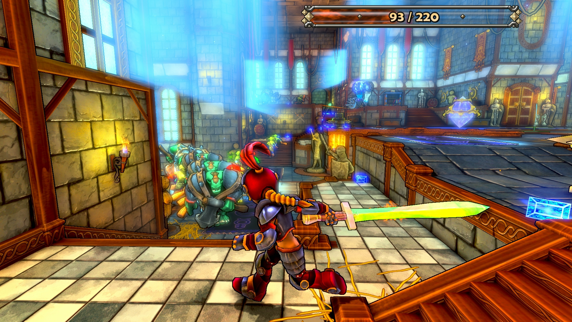 Dungeon Defenders New Heroes DLC screenshot