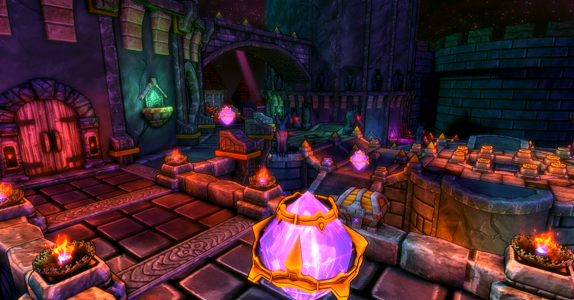 Dungeon Defenders Warping Core Challenge Mission Pack screenshot