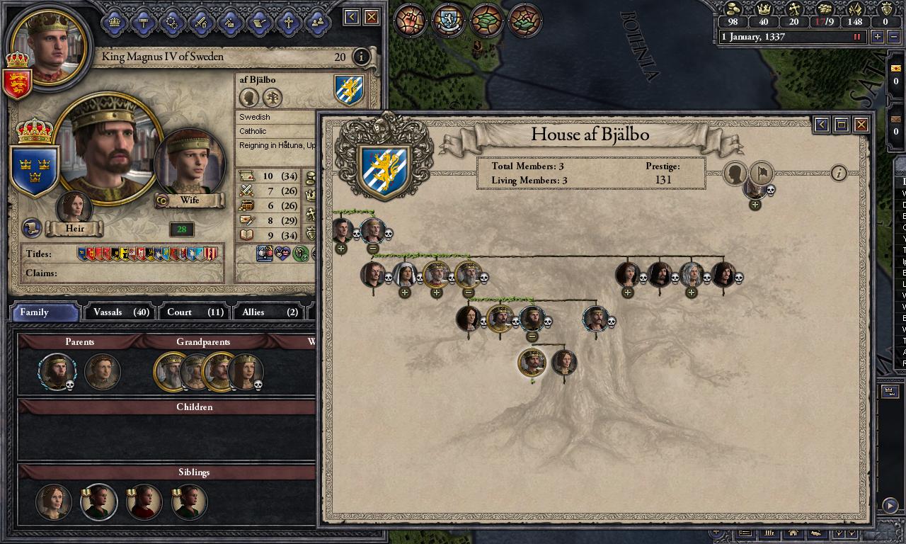 Crusader Kings II: Dynasty Shields screenshot