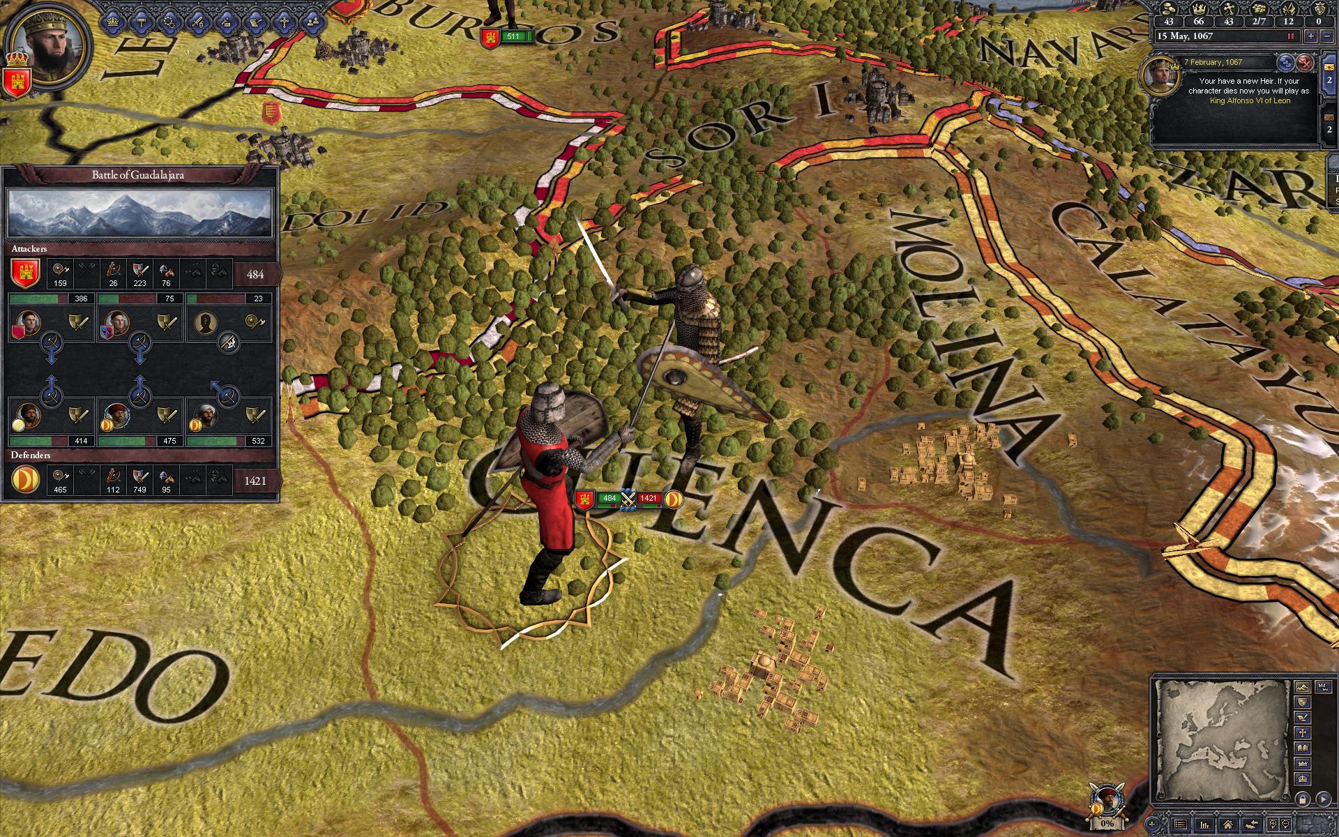 Crusader Kings II: Songs of Albion screenshot