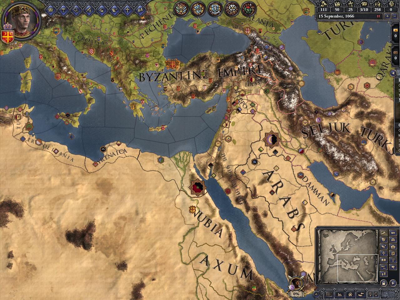 Crusader Kings II: Songs of the Holy Land screenshot