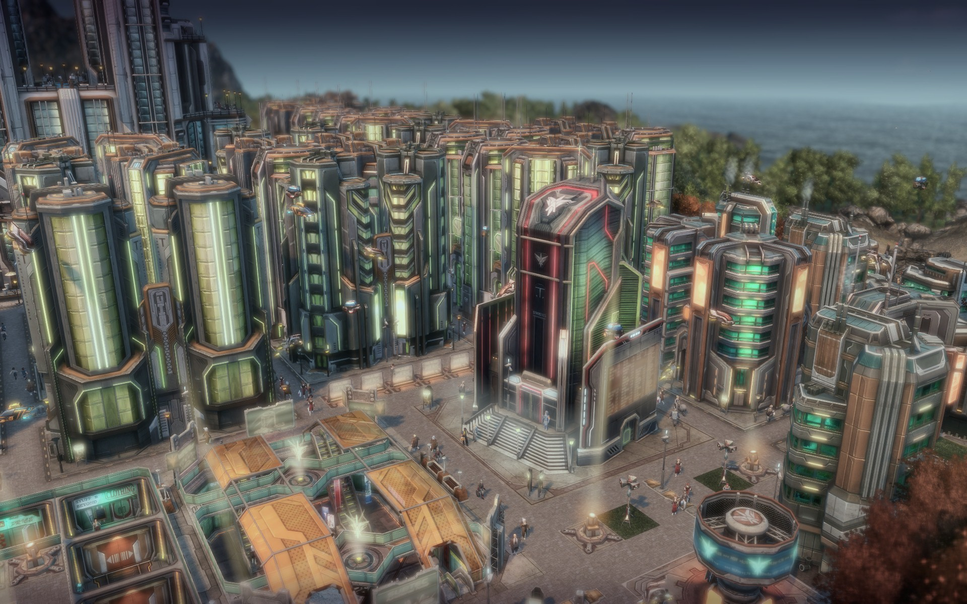 Anno 2070 - The Central Statistical Package screenshot