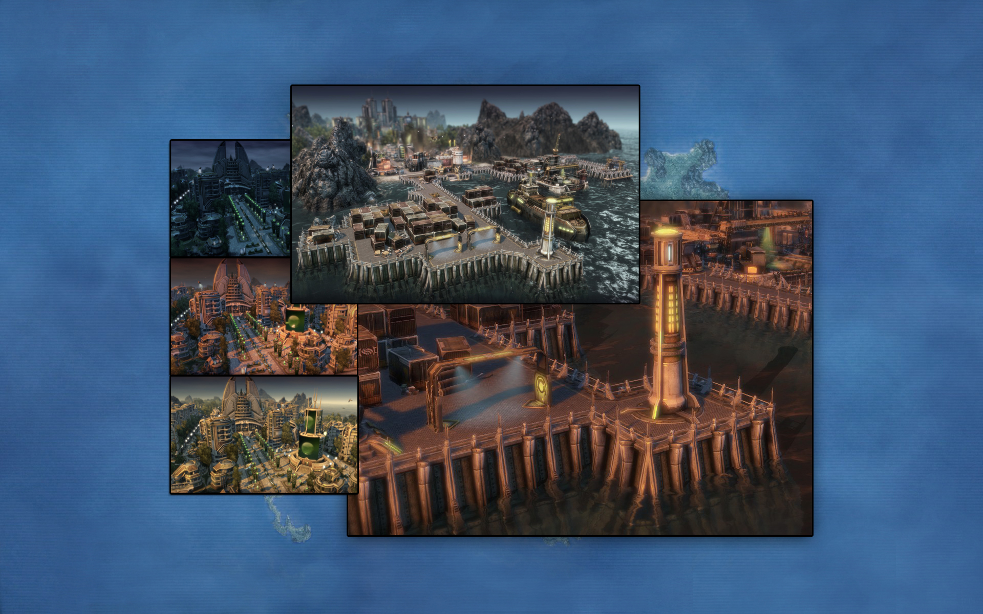 Anno 2070  - The Nordamark Line Package screenshot