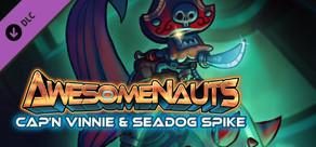 Awesomenauts - Cap'n Vinnie & Seadog Spike Skin