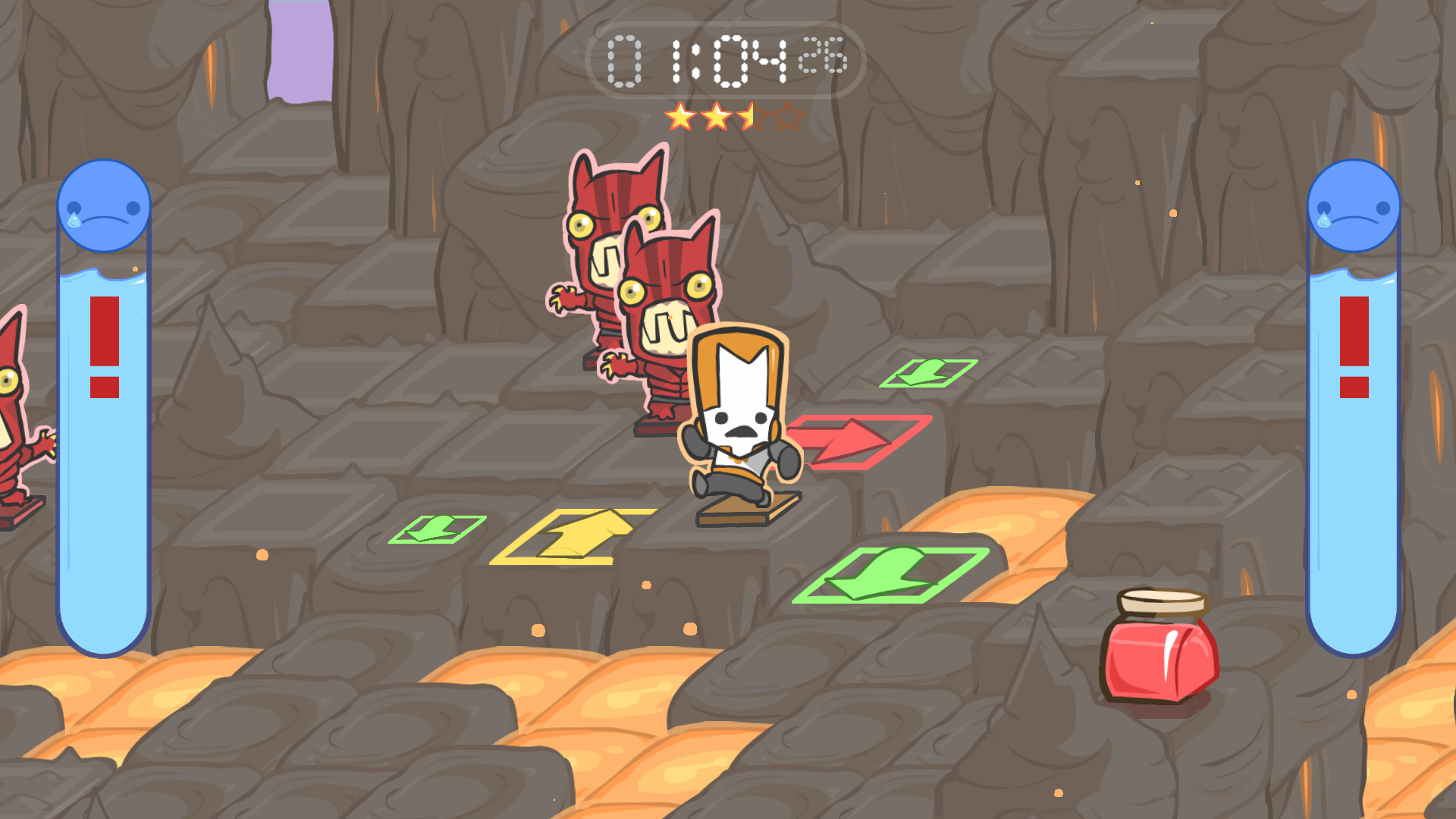 how to get the key sword in castle crashers