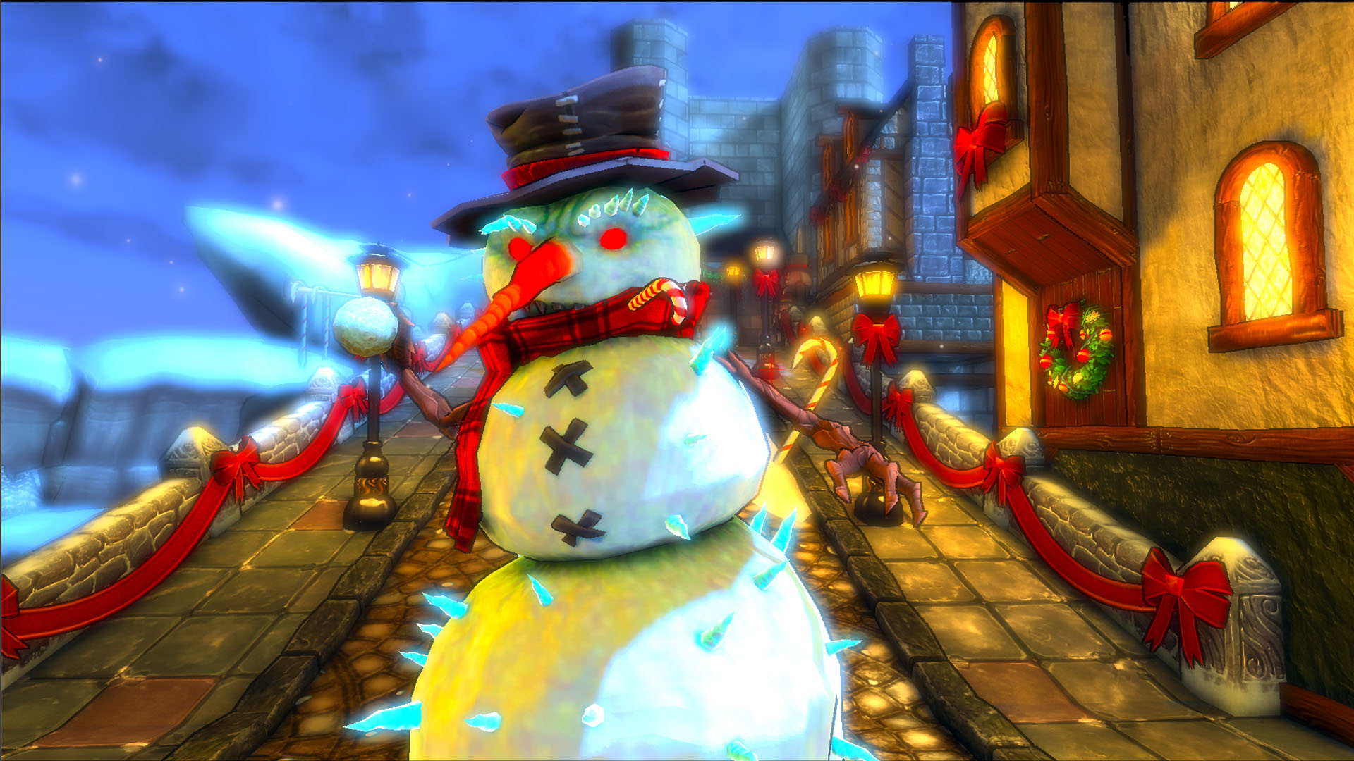 Dungeon Defenders - Etherian Holiday Extravaganza screenshot