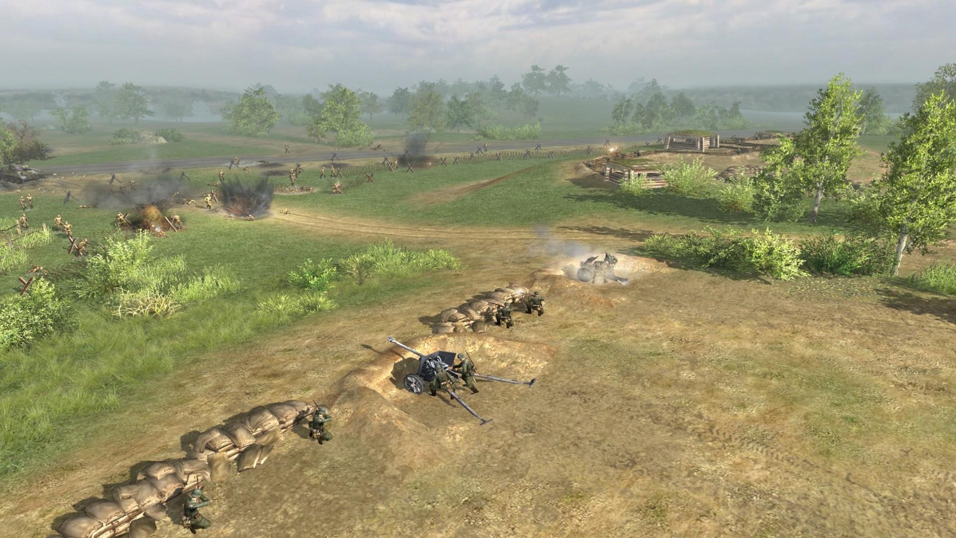 Men of War: Condemned Heroes screenshot