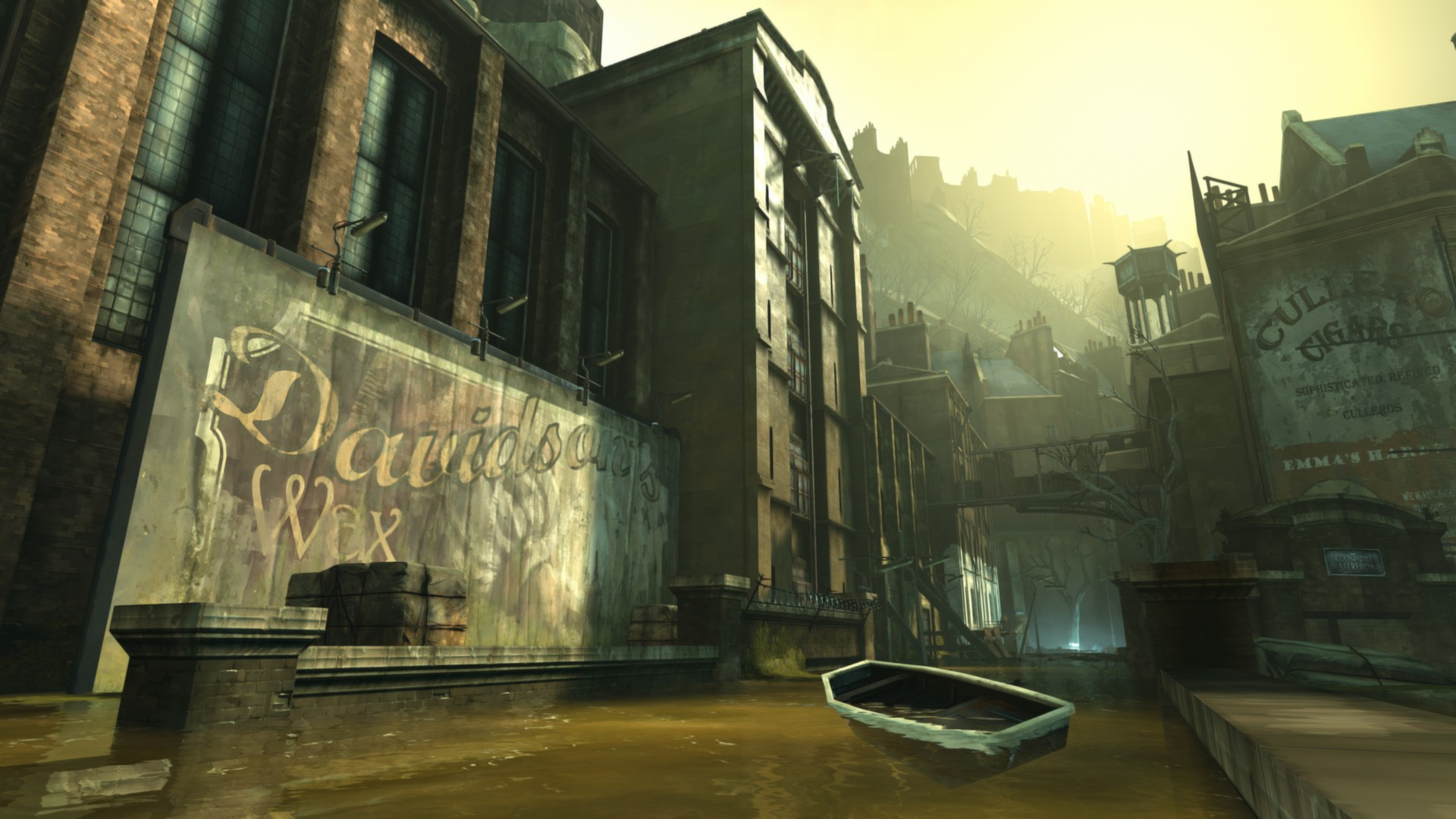 Oh, what a dump . . . (Dishonored, Arkane Studios)
