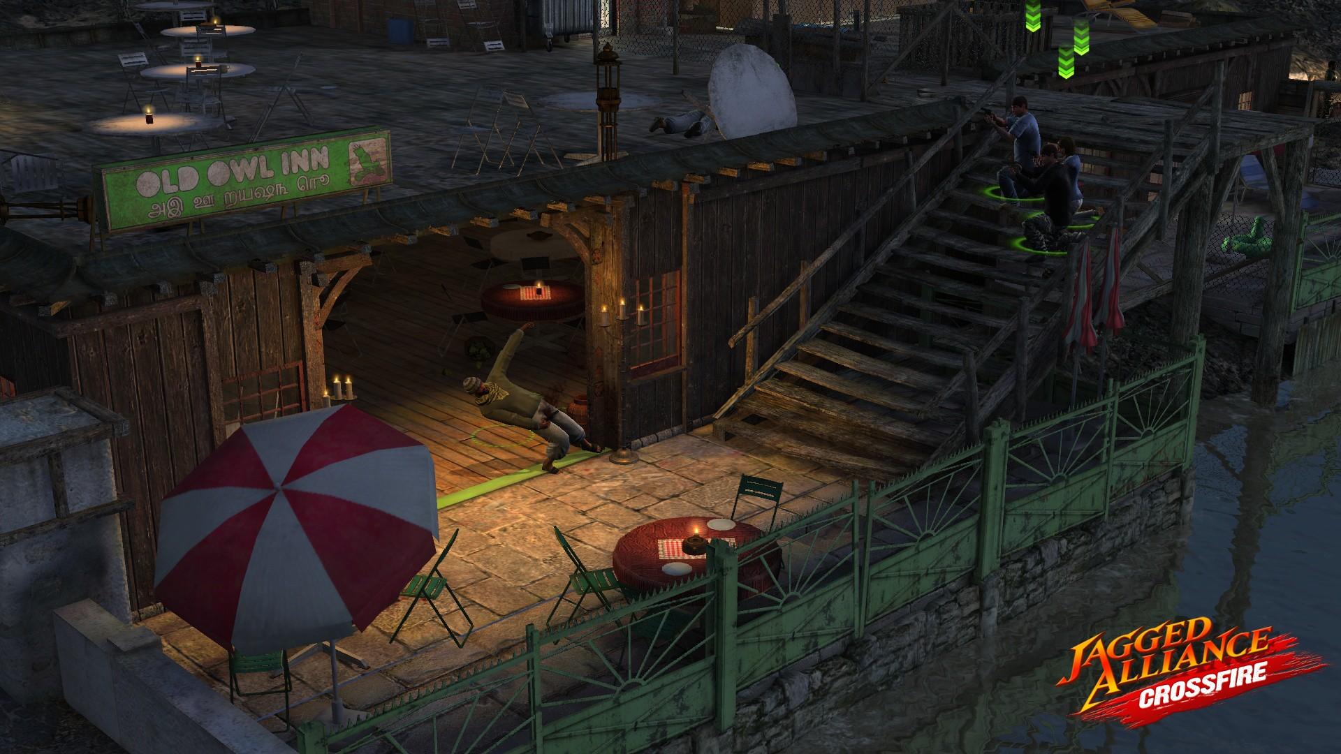 Jagged Alliance: Crossfire screenshot